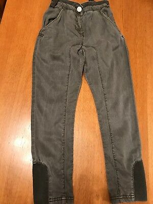 Next Girls Khaki Jodpers Style Trousers Age 8 Years