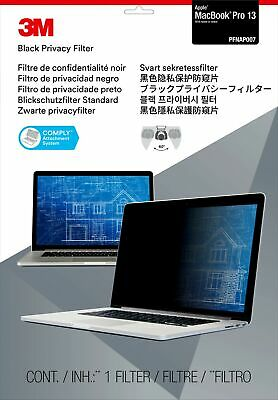 """New  3M Privacy Filter For 13"""" Apple® Macbook Pro® (2016 Model) 98044065187"""