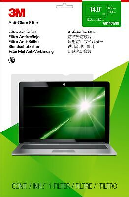 """New  3M Anti-Glare Filter For 14"""" Widescreen Laptop 98044058323"""