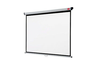 New  Nobo Wall Mounted Projection Screen 1750X1325mm 1902392