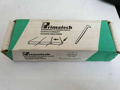 Primatech Flooring Nails - 18GA - 38mm - Approx 1200 Nails - Free P&P