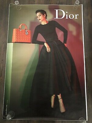 DIOR / MARION COTILLARD DS French Ad bus shelter Poster 4x6ft BEAUTIFUL CLASSIC