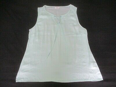 Ladies Size 16 Tank Top, Jeans West, Mint Green
