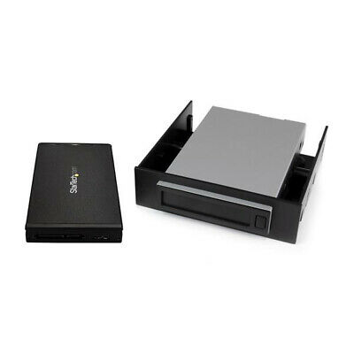 "Startech.Com Hot-Swap Hard Drive Bay For 2.5"" Sata Ssd / Hdd - Usb 3.1 (10Gbps)"