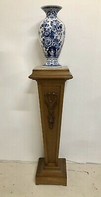 Antique Pedestal Stand Marble Top C.1910
