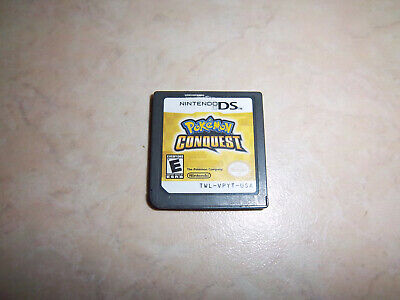 Pokemon Conquest (Nintendo DS, 2012) cart only