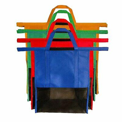 Supermarket Shopping Cart Bag Insulation Non-woven Bag Trolley Storage Bag B@