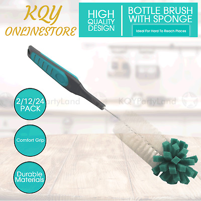 Baby Nipple Bottle Brush Sponge Cleaner Kitchen Cleaning Glass Cup Washing Tool
