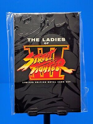 UDON The Ladies of Street Fighter 3 III Limited Edition Metal Card Set