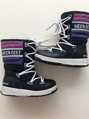 Girls Size 10 Moon Snow Boots