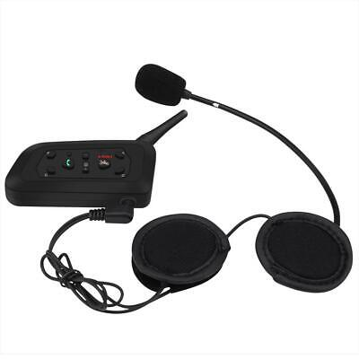 Paar Motorrad Helm Bluetooth Headset Intercom Gegensprechanlage 1200M V6 Pro