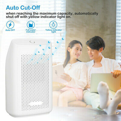 Electric Air Dehumidifier Purifier Damp Clothes Dryer Home Bedroom Office UK