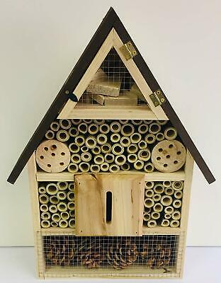 Deluxe Insect Hotel/Bee/Bug House/Shelter Box