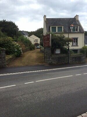 French Property For Sale Brittany Former 10 bed Hotel +Adjacent 5 Bed House Land