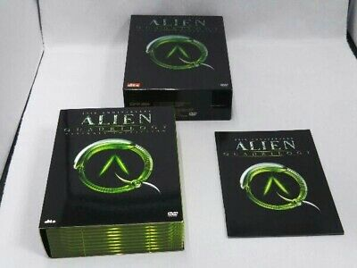 Alien 25th Anniversary Ultimate 9 DVD Collections.from Japan
