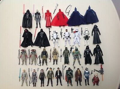 "Hasbro Star Wars 3.75"" Force Awakens / Last Jedi / Solo Figure Loose Lot 31"