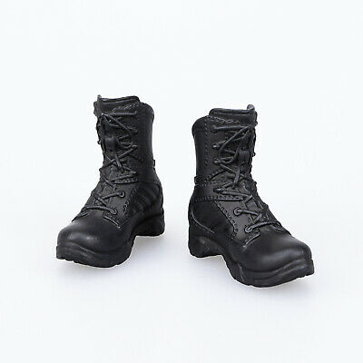 "1/6 Scale Military Shoes Combat Boots for 12"" Female Action Figure Phicen Kumik"