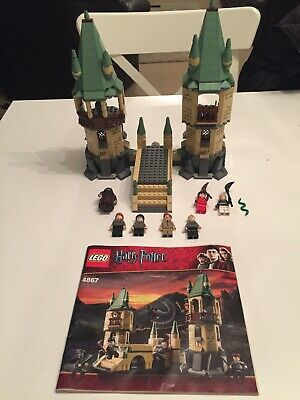 LEGO Harry Potter Hogwarts Castle 4867 With Minifigures