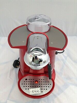 Gaggia L'Amante  Capsule System Coffee Maker Red slight use only