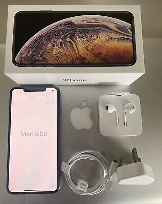 Genuine NEW Apple iPhone XS Max - 256GB - Space Grey (Unlocked) Paid £1350