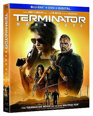 Terminator: Dark Fate (2019) - Blu-Ray with case/artwork/slip cover ONLY