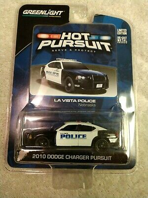 GREEN MACHINE Blank White Greenlight 1//64 2010 Police Dodge Charger