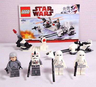 STAR WARS LEGO #8084 SNOWTROOPER BATTLE PACK....NEW /& UNOPENED battle of hoth