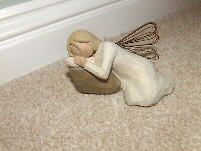 """Willow Tree... """" DREAMING ANGEL  """"  Lovely Figurine-  see photo's"""