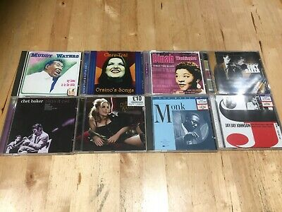 8 CD Jazz & Blues Bundle all listed below, Free UK Post