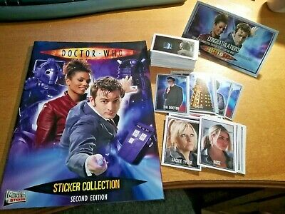 MINT UNOPENED PACKETS DOCTOR WHO STICKERS TOPPS MERLIN SECOND EDITION