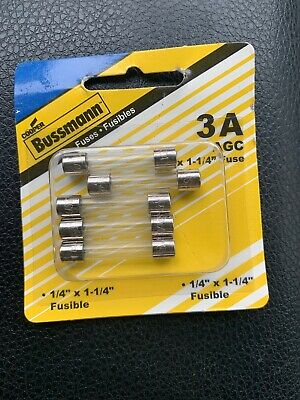Bussmann Buss 30 amps 32V AGC Automotive Fuse Glass Tube 5pk BP//AGC-30-RP NEW!!!