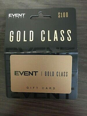 $100 Event Cinema Gold Class Gift Card