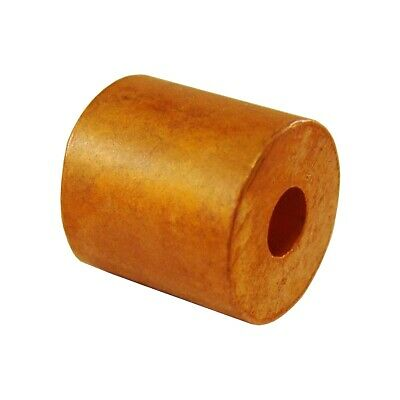 1/4 Inch Copper Button Stop (25 Pack)