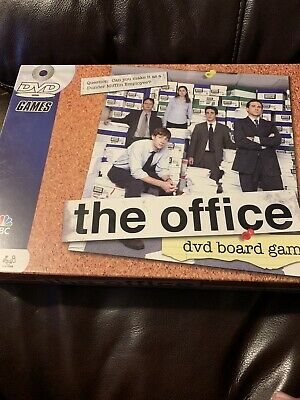 The Office DVD Trivia Board Game COMPLETE