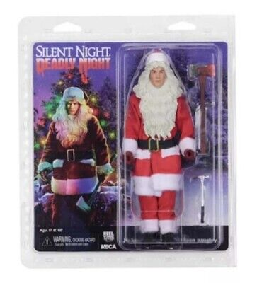 "SILENT NIGHT, DEADLY NIGHT - Billy 8"" Clothed Action Figure (NECA) #NEW"