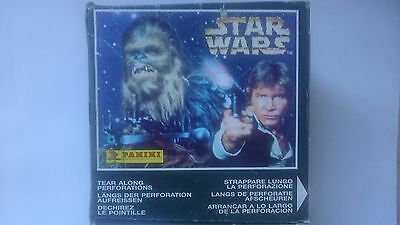 STAR WARS - Stickers Panini Factory Sealed Box (50ct) #NEW