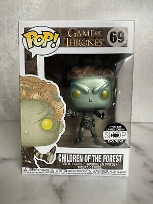 Funko Pop! Game of Thrones: Children Of The Forest Metallic #69 NYCC 2018