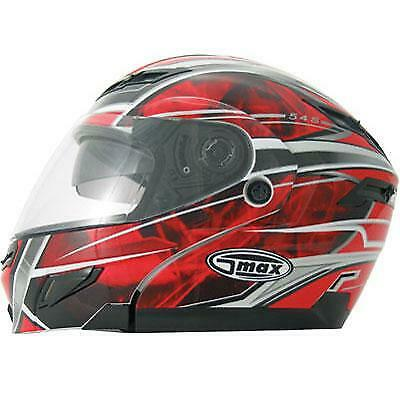 CLEAR - G980353 72-0896 GMAX GM54S Electric Lens Helmet Face Shield