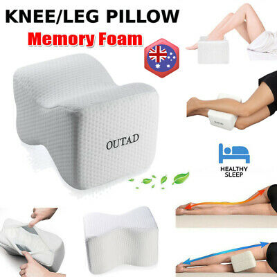 OUTAD Slow Rebound Memory Foam Leg Knee Support Pillow Orthopedic Relief d2