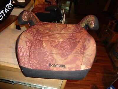 Harmony Youth Baby Booster Car Seat Safe Travel - Camo Camouflage