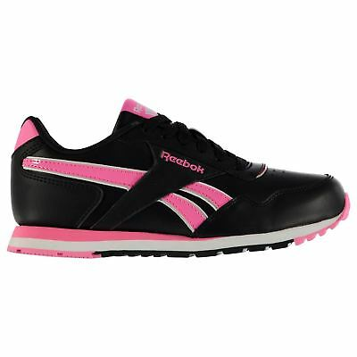 Reebok Classic Glide Trainers Juniors Black/Pink Sneakers Shoes Footwear