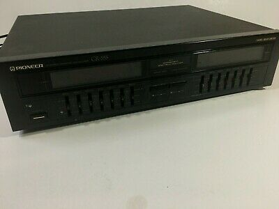 Pioneer GR-555 Stereo Graphic Equalizer (Single Owner, Working, Vintage)