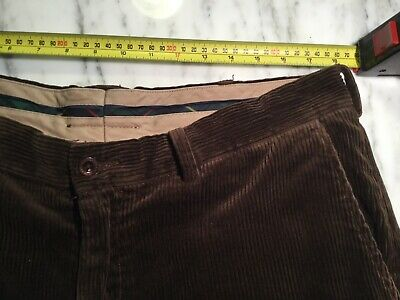 ralph lauren Brown Preston Thick Cord Cotton Pant 36""