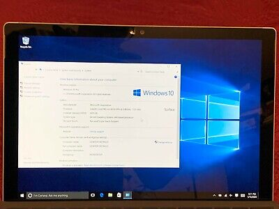 Microsoft Surface Pro 4, m3-6Y30, 0.9GHz, 4GB, 128GB, WIN 10 PRO AS-IS