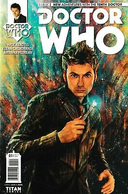 Doctor Who: The Tenth Doctor #1 August 2014 Comic Book (Titan Comics)