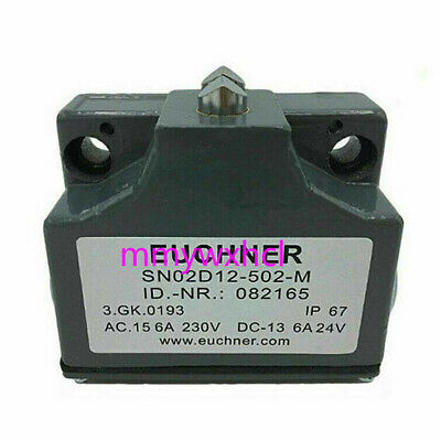 Euchner Machine Precision Combo Limit Switch SN02D12-502-M SN02R12 Two Contact