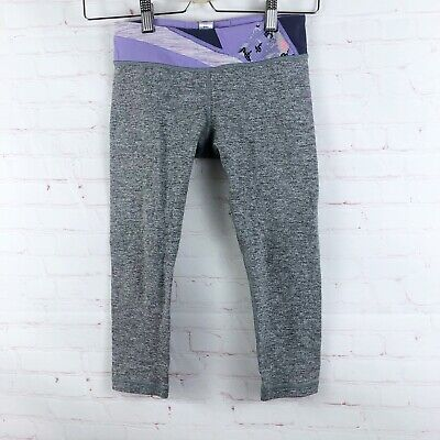 Ivivva Lululemon Girls Size 10 Y Capri Leggings Pants