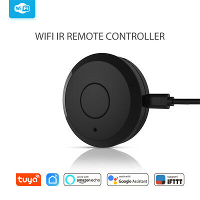 WiFi-IR Universal Smart Remote Controller Hub Voice Control for Smart Home Black