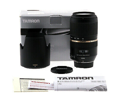 Tamron SP 70-300mm f/4-5.6 Di VC USD Lens - Nikon Mount (Open Box)