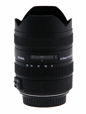 Sigma 8-16mm f/4.5-5.6 DC HSM Lens for Canon (Open Box)